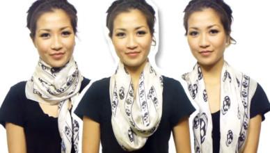 uvazat šátek