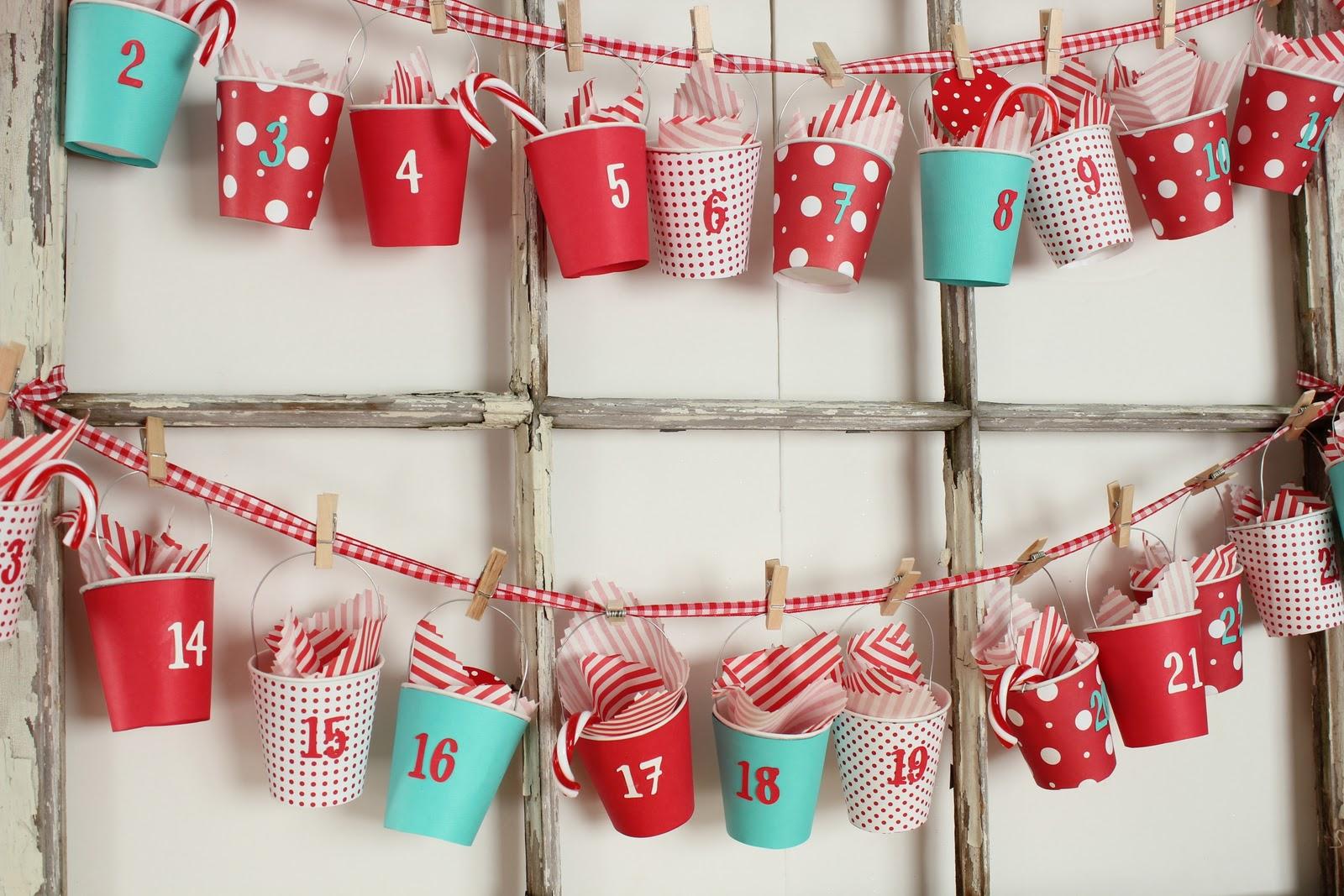 Adventn kalend 10x jinak d m n pad - Calendario de adviento diy ...