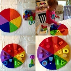 kreativní učení barev