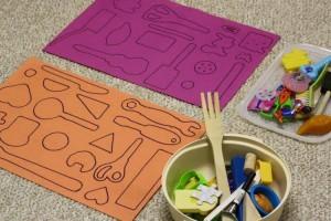 učení tvarů děti