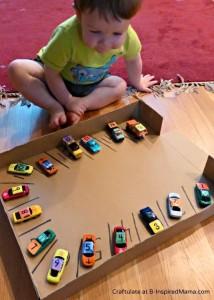 čísla a auta pro kluky