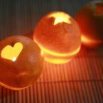 Proměňte pomeranč ve svíčku