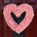 10 Valentýnských věnců na dveře