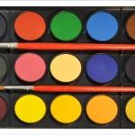 Domácí vodové barvy