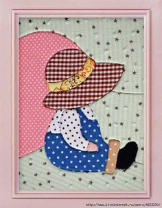patchwork obrazek holcicka