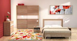 Barevná ložnice