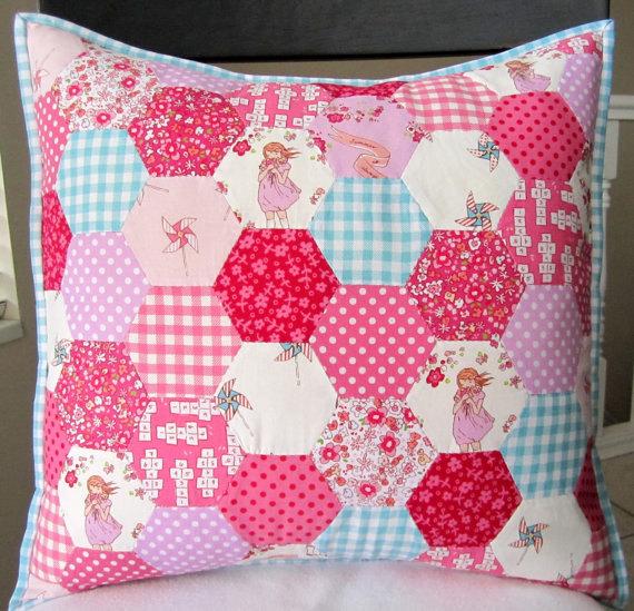 patchwork polštář