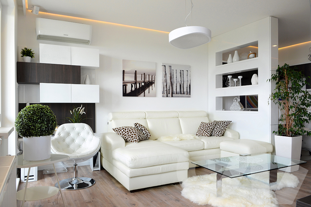 Skříňka pro rozdělení dvou místností je v dnešní době velice moderním a oblíbeným prvkem.