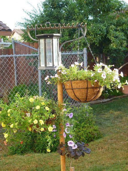 Držák na květináč. Zdroj: hometalk.com