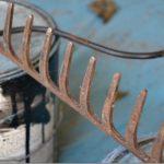 Jak recyklovat staré hrábě?