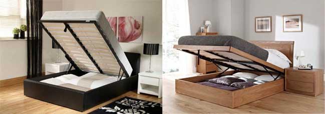 Úložný prostor pod postelí je stále trendy!