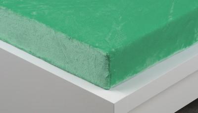prostěradlo zelené mikroflanel