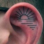 Ušní tetování – 15 inspirací