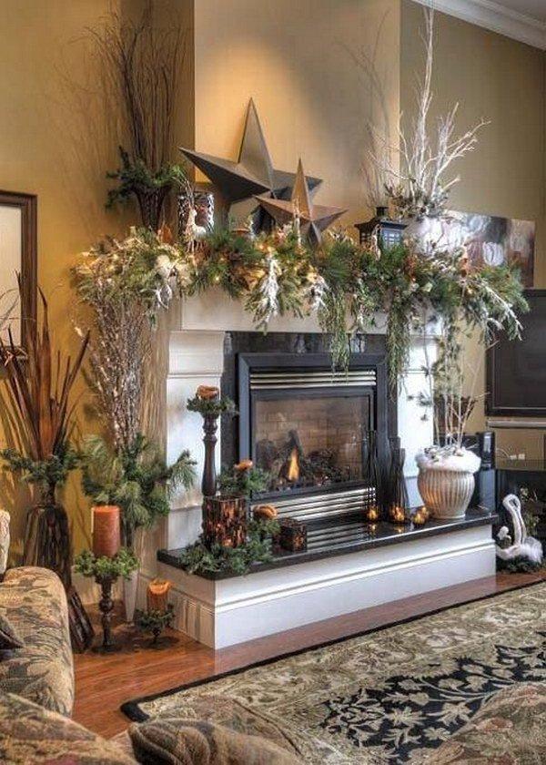 16-christmas-mantel-decorating-ideas