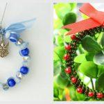 Inspirace na vánoční tvoření z korálků