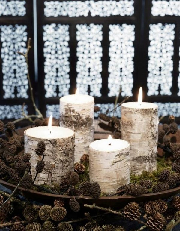 rustic-christmas-decoration-ideass-advent-wreath-diy-candles-pine-cones