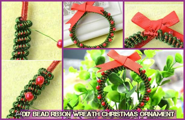 fabartdiy-diy-bead-ribbon-wreath-christmas-ornament-1