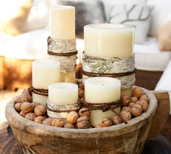 stylish-rustic-christmas-table-centerpiece