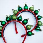 Návod na vánoční čelenku