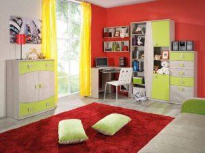 Dětský pokoj z dřeva