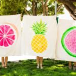 Jak vyrobit deku na piknik z nevyužité látky