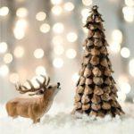 5 vánočních ozdob z šišek