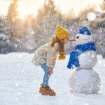 10 sněhových aktivit pro děti v zimním období
